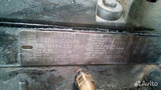 Двигатель в сборе каменз 11 Cummins m11-330 ESP+