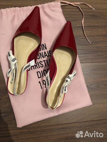 72251bf3f Туфли Dior Jadore 1953 купить в Москве на Avito — Объявления на ...