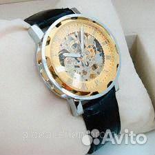 Часы Skeleton мужские - Winner Skeleton - Gold  310ca354257f7