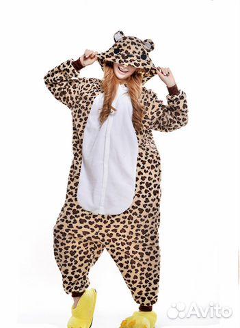 Кигуруми пижама леопард купить в Санкт-Петербурге на Avito ... ba05a08d3a25d