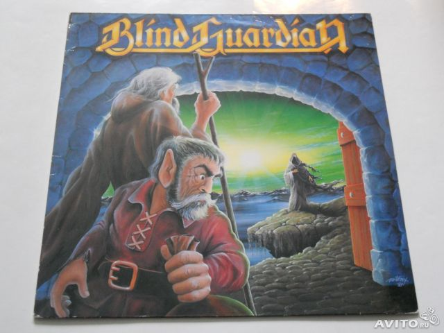 "Blind Guardian ""Follow the blind"" LP 1989 Hellowee— фотография №1"