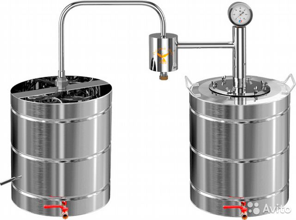 Самогонный аппарат бак 30 литров самогонный добавки ароматические