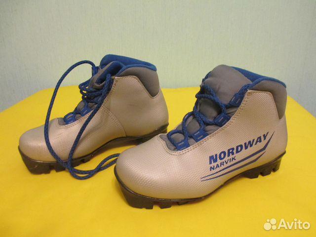 Лыжные ботинки Nordway (детские)   Festima.Ru - Мониторинг объявлений 3b2280cf719