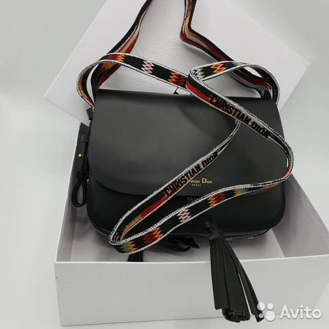 a919f5ff274a Женская сумка Christian Dior black купить в Москве на Avito ...