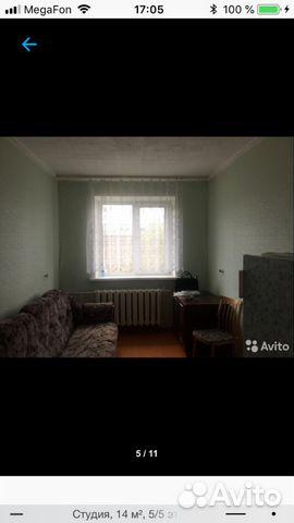 Продается квартира-cтудия за 800 000 рублей. микрорайон Зелёная Роща, Советский район, Красноярск, Джамбульская улица, 2Б.