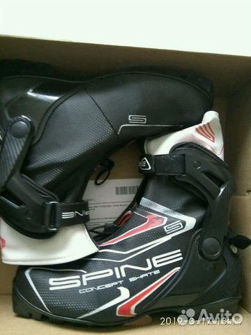 f07ddc9c Лыжные ботинки Spine Concept Skate 296 купить в Санкт-Петербурге на ...