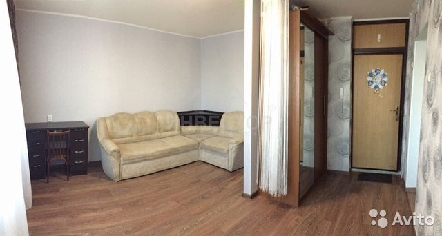 Продается однокомнатная квартира за 1 350 000 рублей. г Челябинск, ул Солнечная, д 10А.