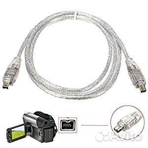 Кабели Firewire iEEE 1394 4-контактный iLink купить 4