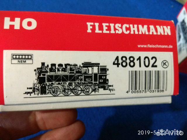Продам паровоз Fleischmann Br 81 488102 89221237910 купить 1