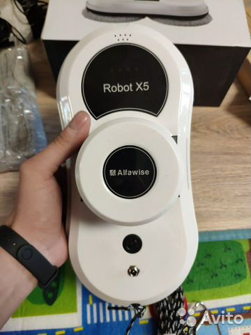 Alfawise robot x5 window dichroic paper