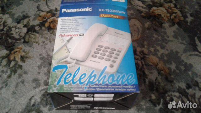 Panasonic телефон стационарный  89204223227 купить 1