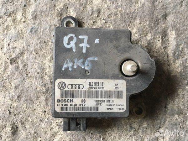 89026196331  Блок электронный Audi Q7 4L 3.6 2007