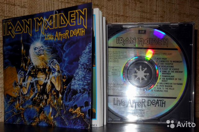 "Сd Iron Maiden ""Live after death""— фотография №1"