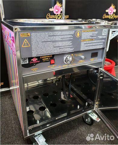 Аппарат для фигурной сладкой ваты Candyman V2