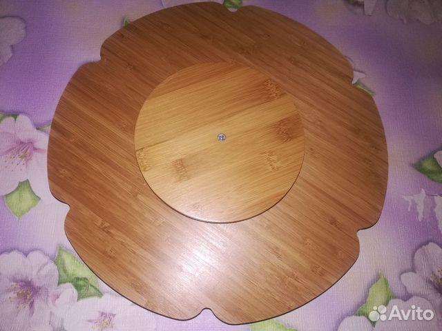Тарелка менажница бамбуковая 6 секций 89082581913 купить 2