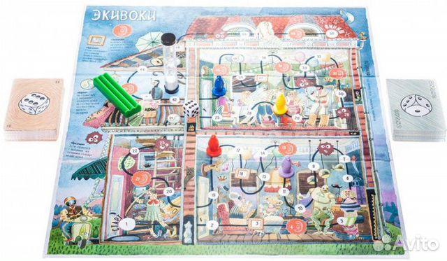 Новая настольная игра Экивоки  89045827115 купить 6