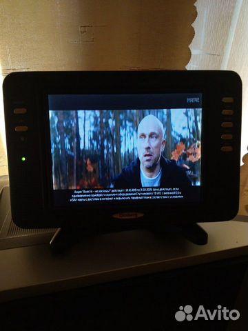 Автомобильный телевизор 12в и 220в купить 3