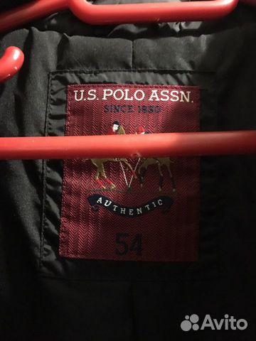 Куртка Поло Мужская 54 размер  89286947904 купить 2