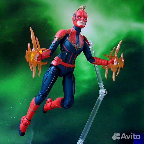 Фигурка Marvel Select Captain Marvel (Disney Store купить 7