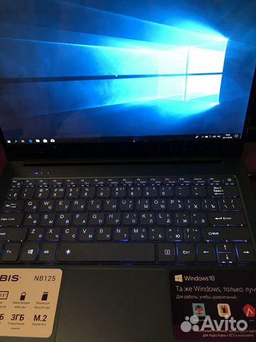 89270863062 Новый Ультрабук 12.5IPS FHD 3Gb N3350 32SSD Гаран