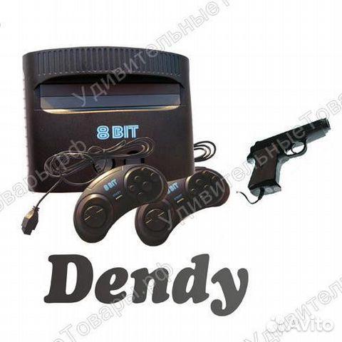 84942303606 Dendy Darkwin Duck 440-in-1 + пистолет