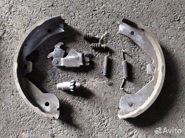 Механизм колодок задний Volkswagen Touareg 3.0 купить 1