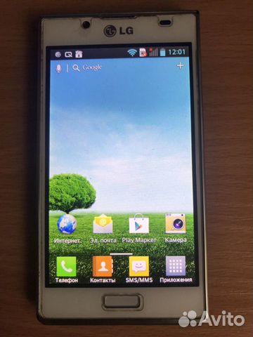 Телефон LG P705  89040106721 купить 1