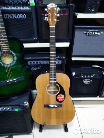 Акустическая гитара Fender CD-60S/NAT
