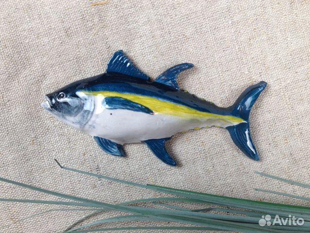 Керамическая рыбка-магнит Тунец