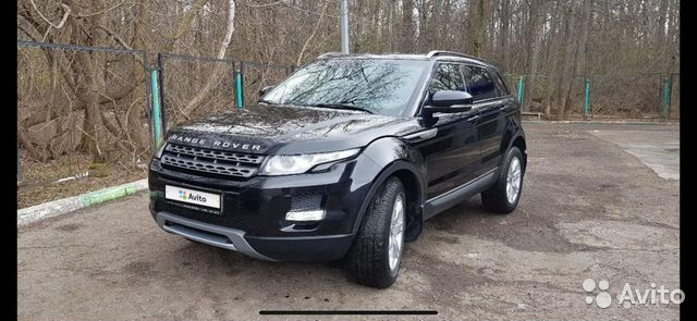 Land Rover Range Rover Evoque, 2012  89581483355 купить 2