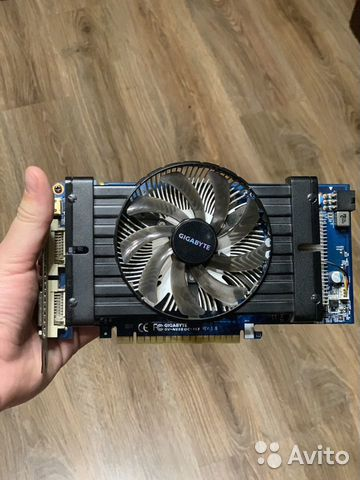 Gigabyte Geforce 550 Ti