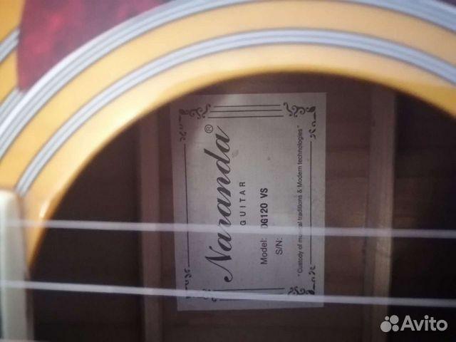 Электро-акустическая гитара Naranda DG120VS