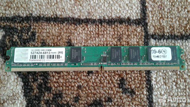 Оперативная память 1G DDR2 800dimm