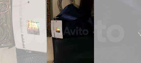 91bcf0052452 Сумка мужская Baldinini синяя новая купить в Москве на Avito — Объявления на  сайте Авито