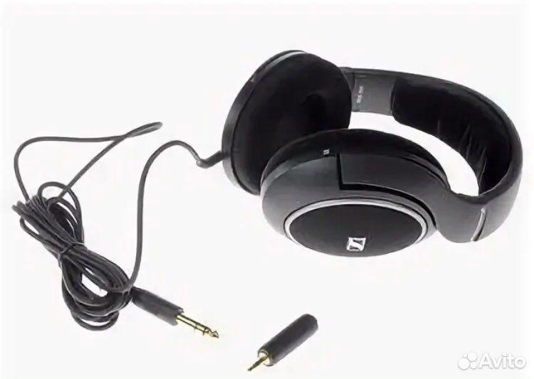 Проводные наушники Sennheiser HD 558 черный  89049949026 купить 3