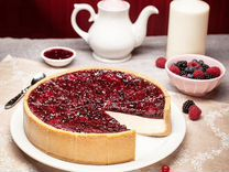 """Чизкейк """"Лесные ягоды"""", торт, десерт"""