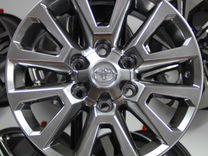 Новые диски R18 на Toyota Land Cruiser Prado