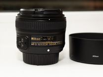 Объектив Nikon nikkor 50mm f1.8G