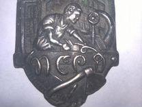 Знак профсоюз работников деревообработки
