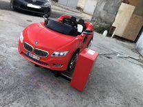 Автомобиль качалка детский электрический