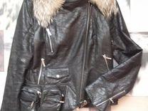 Кожаная куртка Италия — Одежда, обувь, аксессуары в Москве