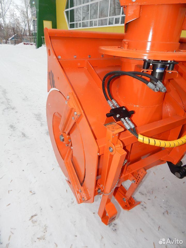 Навесной шнекоротор Истребитель снега на Беларус
