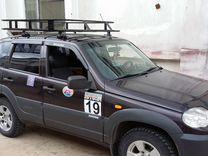 Экспедиционный багажник proffit niva штатное место