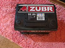 Аккумулятор Zubr Ultra о/п 60 а/ч