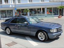 Лобовое стекло Mersedes W126 Coupe S 280-500