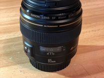 Объектив Canon EF 85 mm f/1.8 USM