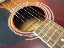 Цветные струны на акустическую гитару