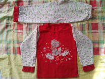 Пижамы утепленные 110-116