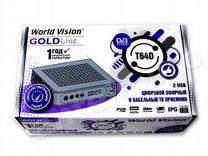 Цифровая тв приставка World Vision T64D