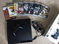 Sony PS3+ 1 джойстик+игры